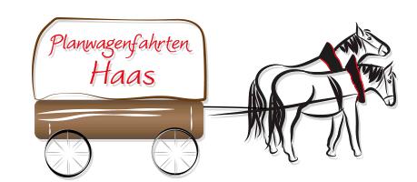 Planwagenfahrten und Kutschfahrten Haas aus Nagod Logo